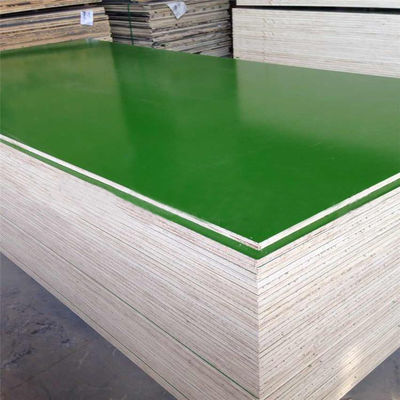 Well Sanded & Pressed Plastic Laminated Plywood Board Poplar / Eucalyptus Core